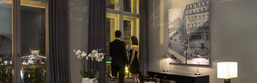 romance in staying in hotels