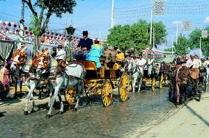 улиците на Севиля