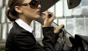 гримът за бизнес дама