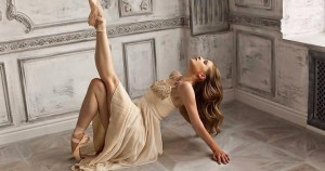 красота танцът на балерината