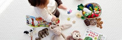 съхранение на играчки в детската стая