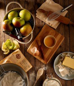 здравословни храни в чинията