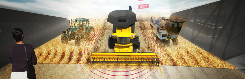 трактори в селското стопанство