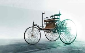 1886, автомобилът на бенц