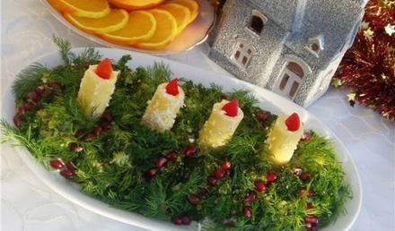 Коледна салата