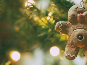 Коледна украса за елха